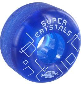 Ricta Ricta- Super Crystals- 54mm- 99a- Blue- Wheels