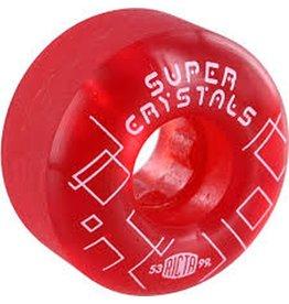 Ricta Ricta- Super Crystals- 53mm- 99a- Red- Wheels