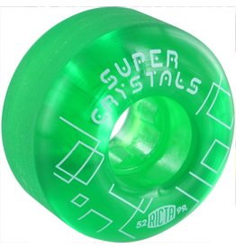 Ricta Ricta- Super Crystals- 52mm- 99a- Green- Wheels