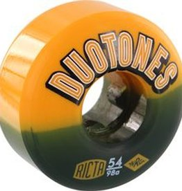 Ricta Ricta- Duo Tones Electros- 54mm- 98a- Orange/Black- Wheels