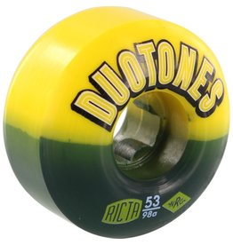 Ricta Ricta- Duo Tones Electros- 53mm- 98a- Yellow/Black- Wheels