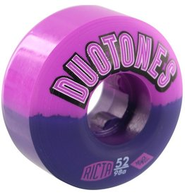 Ricta Ricta- Duo Tones Electros- 52mm- 98a- Purple/Black- Wheels