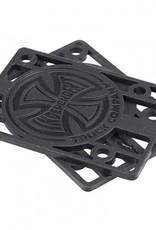 Independent Independent- Riser- 1/8 inch- Black- Set of 2- Riser
