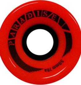 Paradise Wheels Paradise Wheels- Cruisers- 59mm- 78a- Red- Wheels