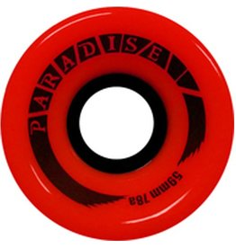 Paradise Wheels Paradise Wheels- Cruisers- 59mm- 78a- Red- Wheels