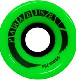 Paradise Wheels Paradise Wheels- Cruisers- 59mm- 78a- Green- Wheels