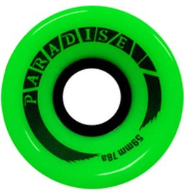 Paradise Wheels Paradise Wheels- Cruisers- 59mm- 78a- Green- Wheels