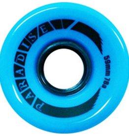 Paradise Wheels Paradise Wheels- Cruisers- 59mm- 78a- Blue- Wheels