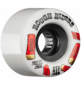 Bones Bones- Rough Riders- Shotgun- All Terrain Formula- 59mm- 80a- White- Wheels