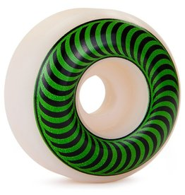 Spit Fire Spitfire- Classics- 52mm- White/Green- Wheels