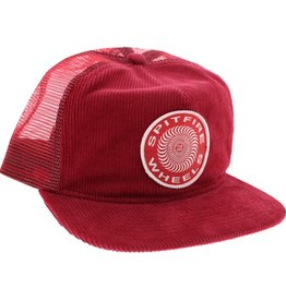 Spit Fire Spitfire- OG Classic Patch- Cord Mesh- Red- Hat