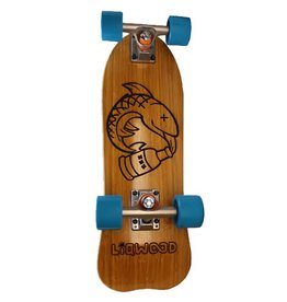 Liqwood- Scallywag- 23 inches- Mini Cruiser- Complete