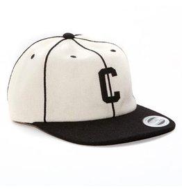 Chocolate Chocolate- Pin-Stripe- C- Wool- White- Hats