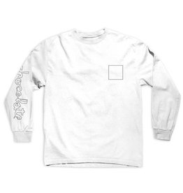Chocolate Chocolate- Line ChunkSquare- Long Sleeve- Shirts