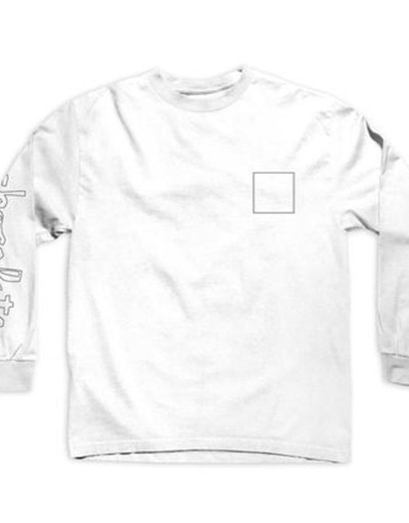Chocolate Chocolate- Line ChunkSquare- Long Sleeve- Shirts