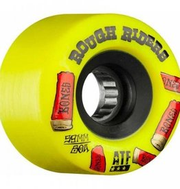 Bones Bones- Rough Riders- Shotgun- All Terrain Formula- 59mm- 80a- Yellow- Wheels