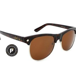 Glassy Sunglasses Glassy- Shredder- Polarized- Tortoise- Sunglasses