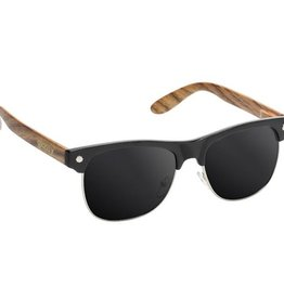 Glassy Sunglasses Glassy- Shredder- Black/Wood- Sunglasses