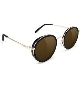 Glassy Sunglasses Glassy- Lincoln- Black/Brown Sunglasses