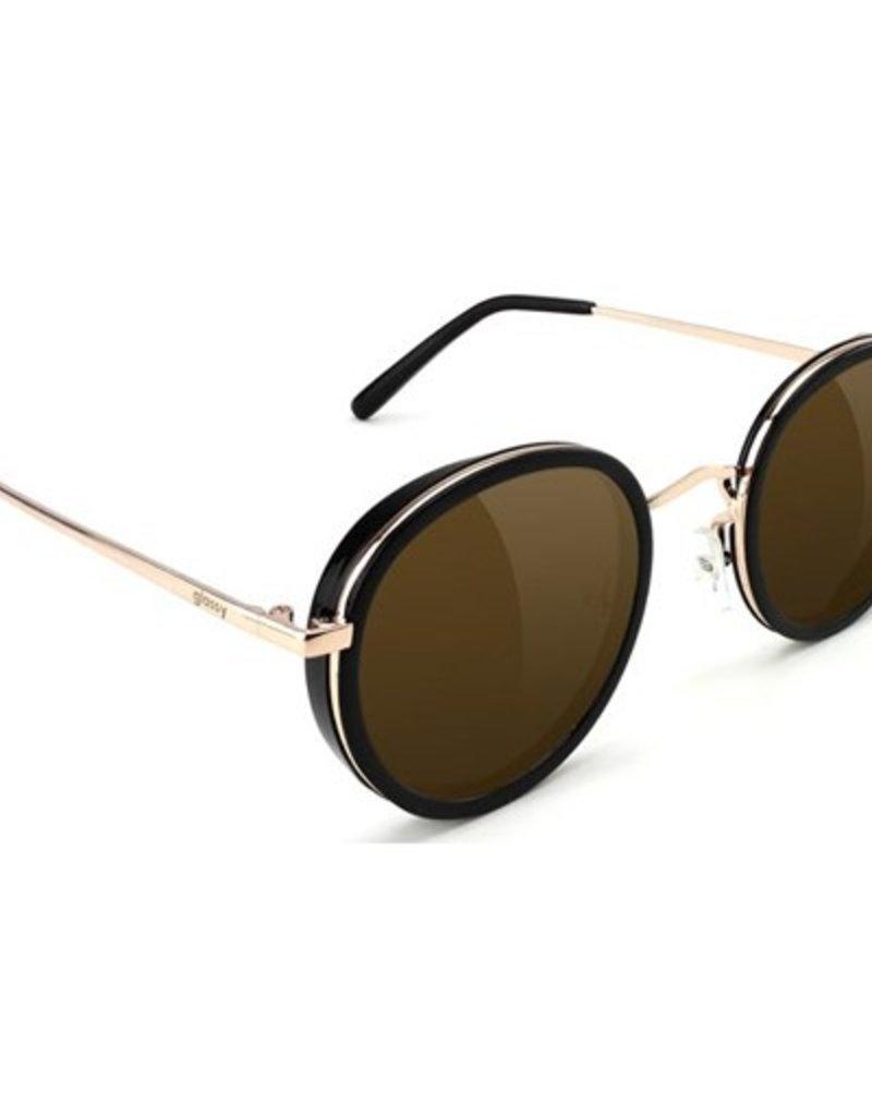 Glassy Sunglasses Glassy- Lincoln- Black/Brown Sunglasses