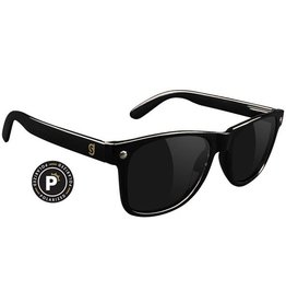 Glassy Sunglasses Glassy- Leonard- Polarized- Black- Sunglasses