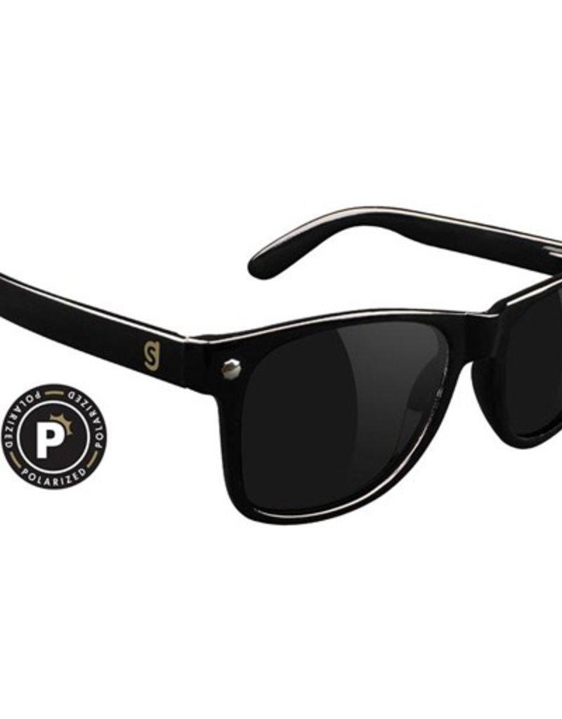 Glassy Sunglasses Glassy- Leonard- Polarized- Black- Sunglasses