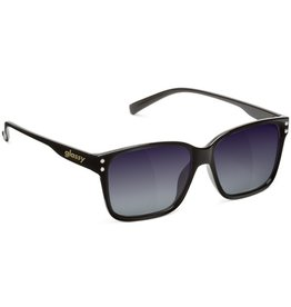 Glassy Sunglasses Glassy- Fritz- Black/Purple Mirror- Suglasses