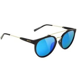 Glassy Sunglasses Glassy- Chuck- Black/Blue Mirror- Sunglasses