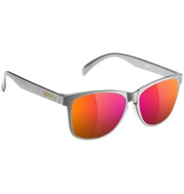 Glassy Sunglasses Glassy- Deric- Dark Grey/Purple Mirror- Sunglasses