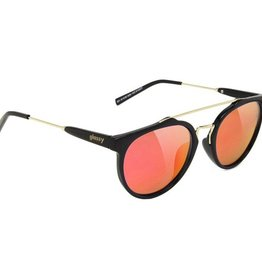 Glassy Sunglasses Glassy- Chuck- Black/Red Mirror- Sunglasses