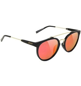 Glassy Sunglasses Glassy- Chuck- Black/Red Mirror- Sunglasses