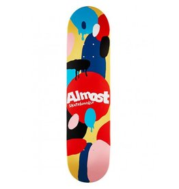 Almost Almost- Spotted- Cream- 7.75 inch- Deck