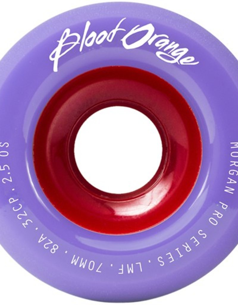 Blood Orange Blood Orange- Morgan Pro Series- 70mm- 82a- Lavender Pastel- Wheels