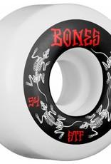 Bones Bones- STF Annuals- 54mm- V4- 83b- White- Wheels