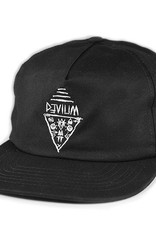 Devium Devium- Triangle Face- Black- Hat