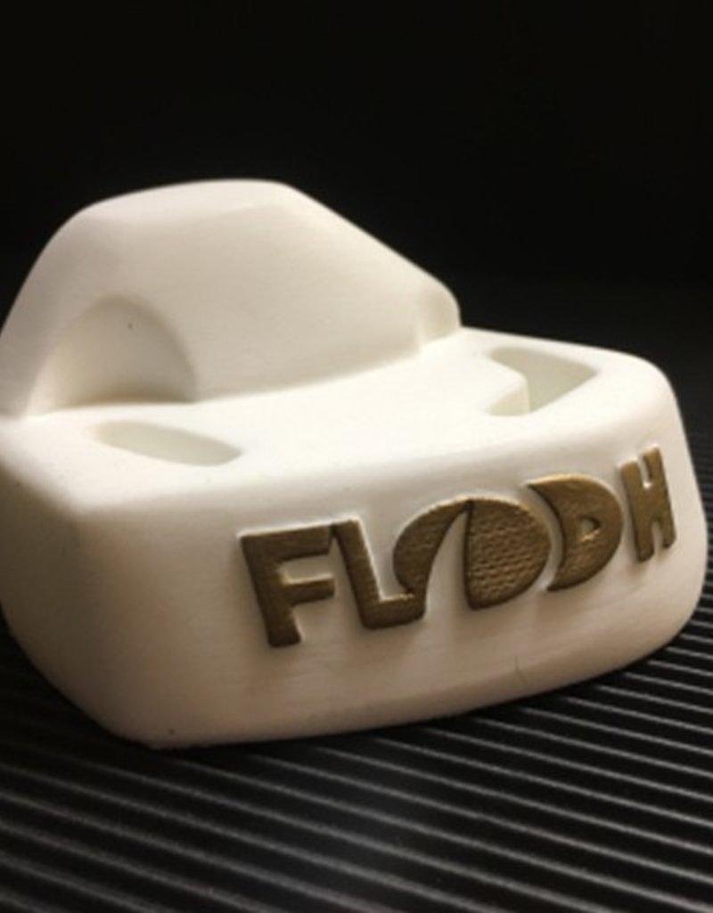 FLO- The New OG- White/Gold Logo- Right Foot- Foot Stop