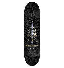 Powell Peralta Powell Peralta- Rodriguez Skull and Sword- Black- 8.75 x 32.95 in- Decks