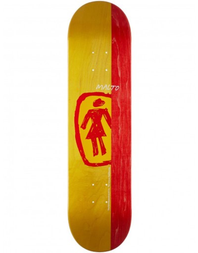 Girl Girl- Malto Sketchy OG- 7.75 x 31.125 in- Deck