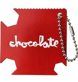 Chocolate Chocolate- Square Keychain Tool- Skate Tool