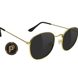 Glassy Sunglasses Glassy- Pierce- Polarized- High Roller- Gold- Sunglasses