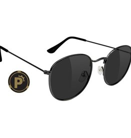 Glassy Sunglasses Glassy- Pierce- Polarized- High Roller- Black- Sunglasses