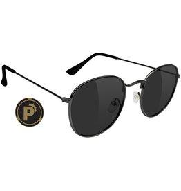 Glassy Sunglasses Glassy- Pierce- Polarized- High Roller- Black- Sunglasses