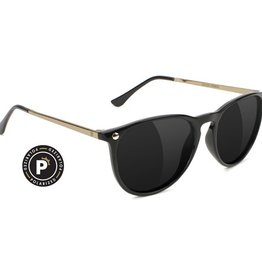 Glassy Sunglasses Glassy- Mikey II- Polarized- Black/Gold- Sunglasses