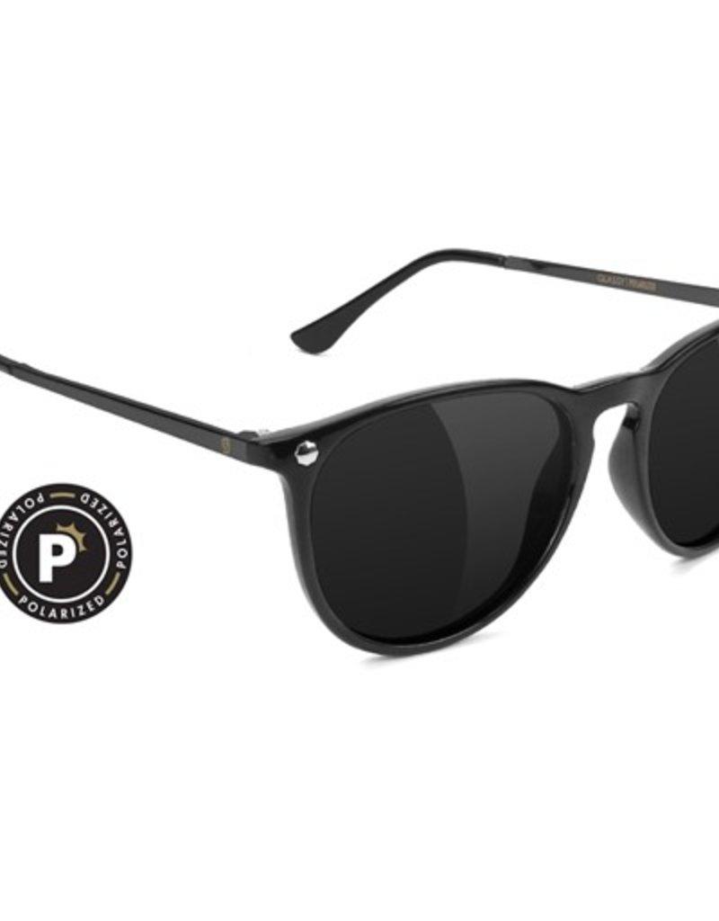 Glassy Sunglasses Glassy- Mikey II- Polarized- Black- Sunglasses