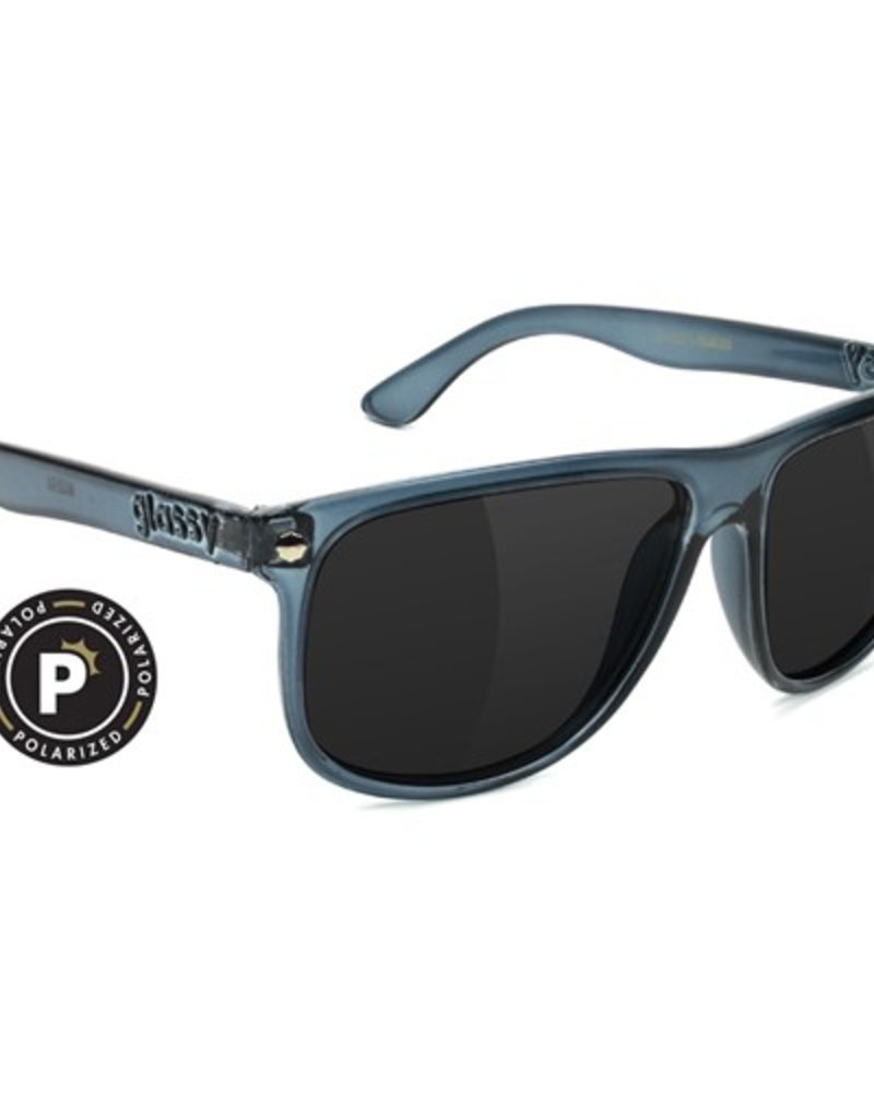 Glassy Sunglasses Glassy- Madera- Polarized- Transparent Grey- Sunglasses