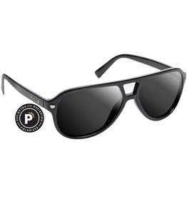 Glassy Sunglasses Glassy- Haslam- Polarized- Black- Sunglasses