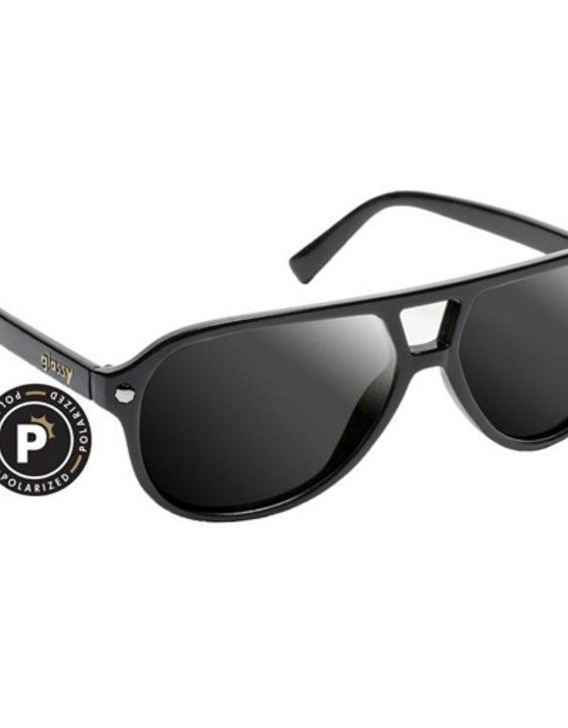 Glassy Sunglasses Glassy- Haslam- Polarized- Black- Sunglasses