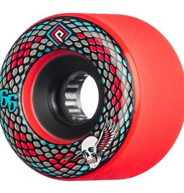 Powell Peralta Powell Peralta- Snakes- 66mm- 75a- Red- Wheels