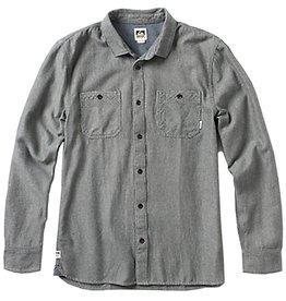 Reef Reef- Grain- Long Sleeve- Black- Shirts