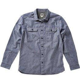 Reef Reef- Duke- Long Sleeve- Indigo- Shirts